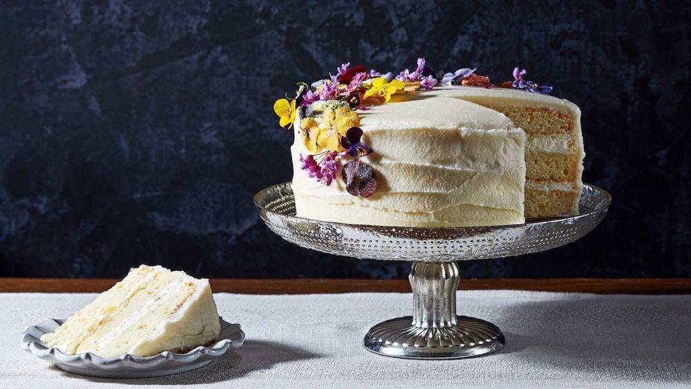 Lemon Cake With Elderflower