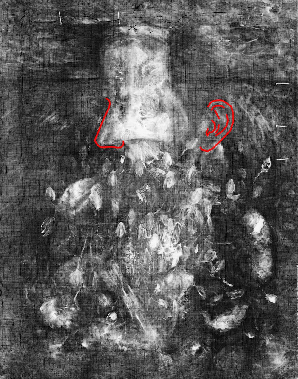 X Ray Image Of Van Gogh Painting