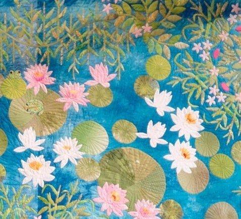 Detail Of Flower Quilt 2019 Tokyo Festival