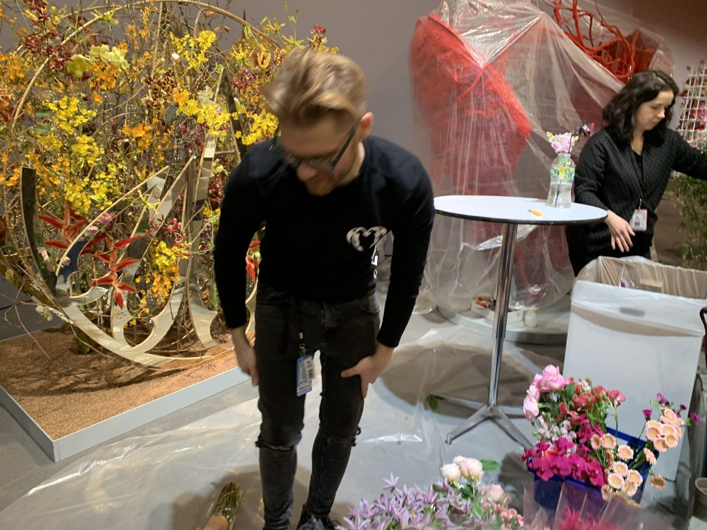 Czech Republic's Premysl Hytych Philadelphia Flower Show