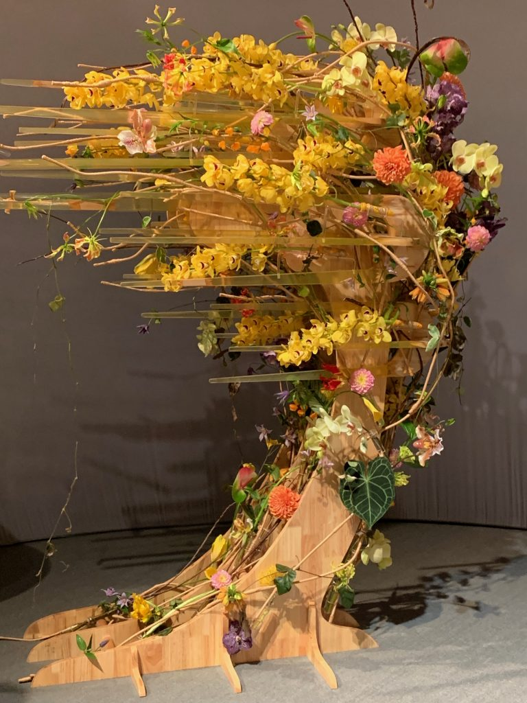 China's Wei Yao Philadelphia Flower Show