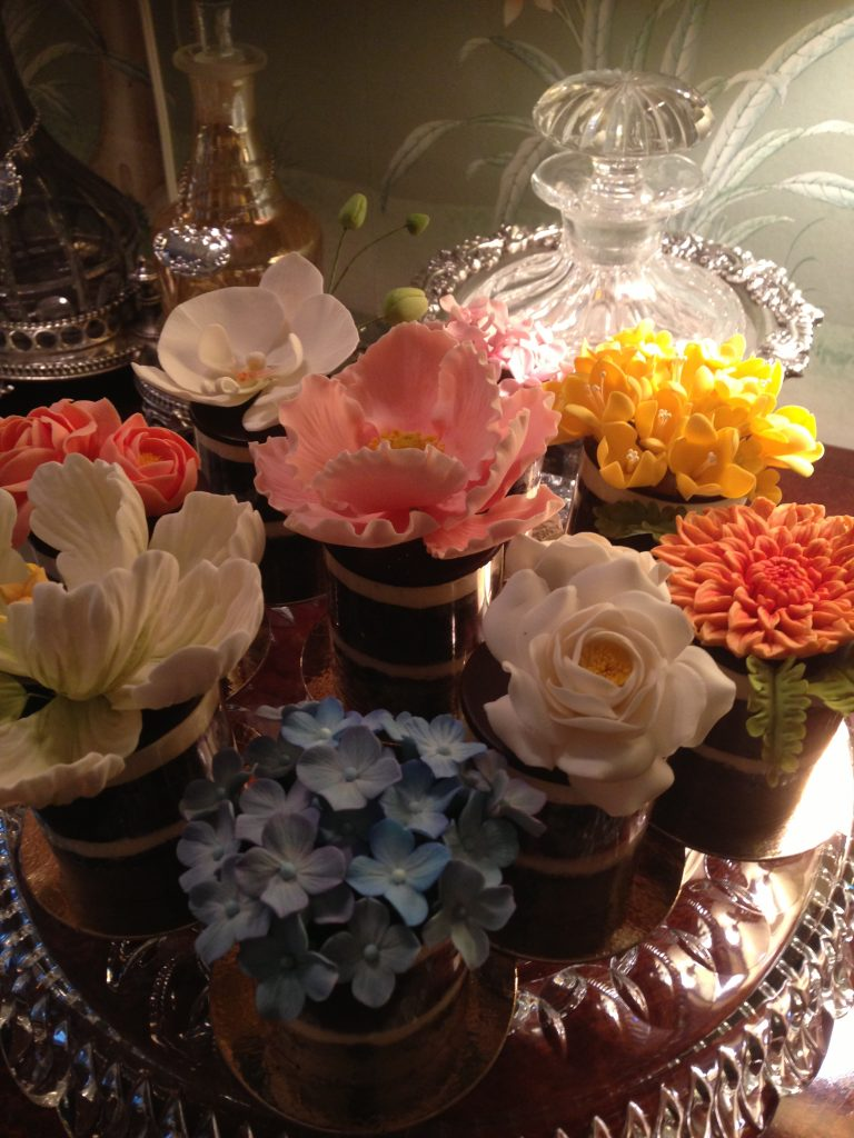 Charlotte Neuville Flowers In Cups