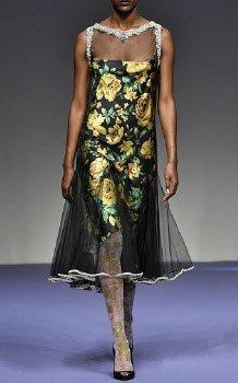 Richard Quinn's Floral Fashion Designs