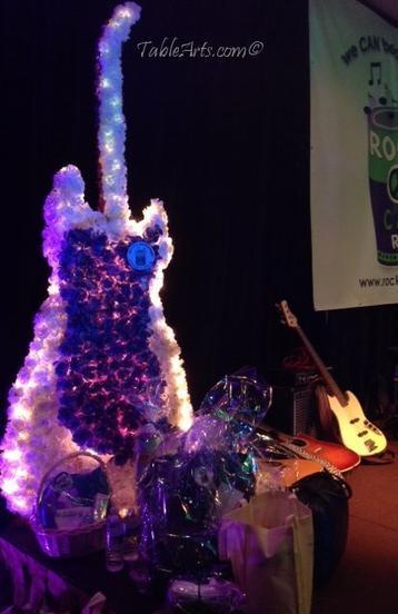 Felicia C. Greenberg Floral Guitar