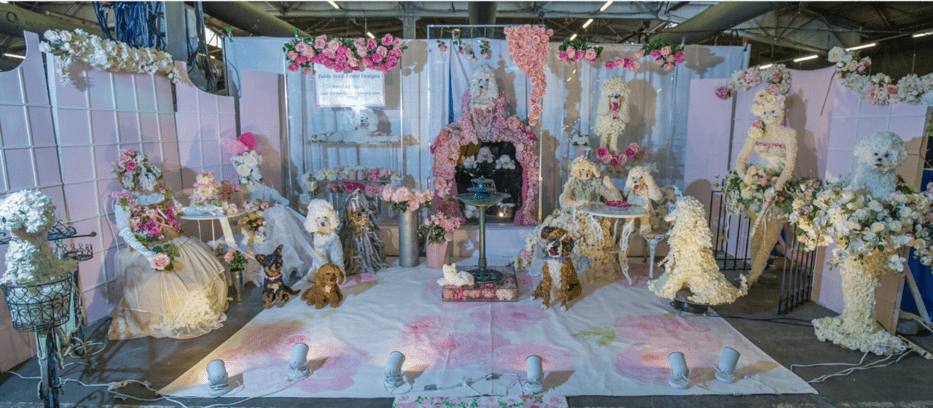 Felicia C. Greenberg Room Of Floral Pets