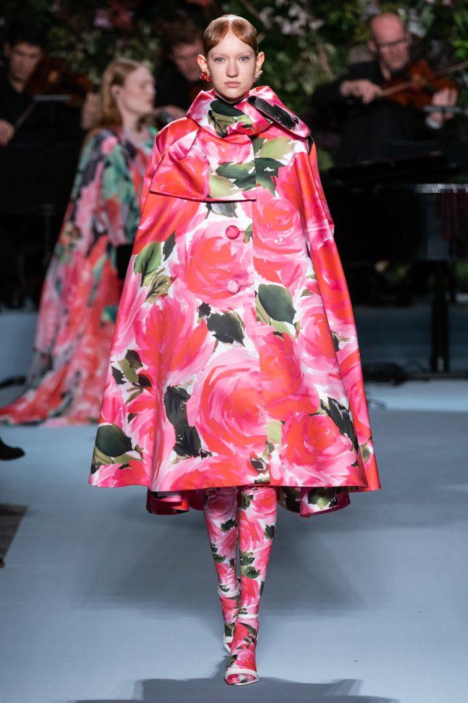 Fall Winter Richard Quinn 2019 Floral Dress