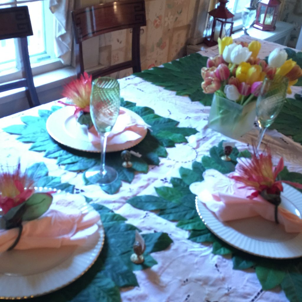 Casual Floral Spring and Summer Table Settings