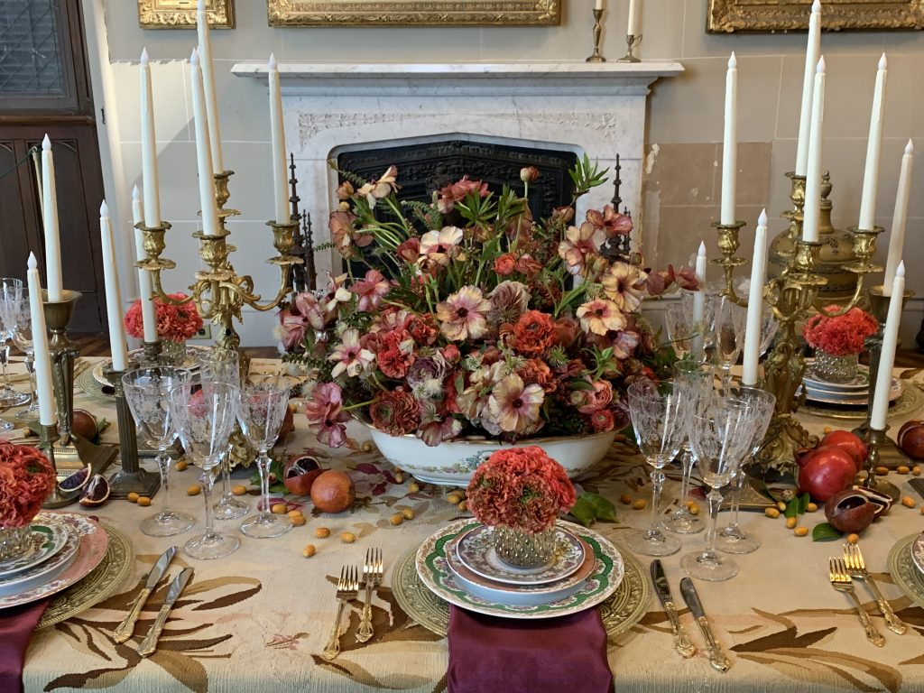 Lyndhurst Flower Show Table Setting