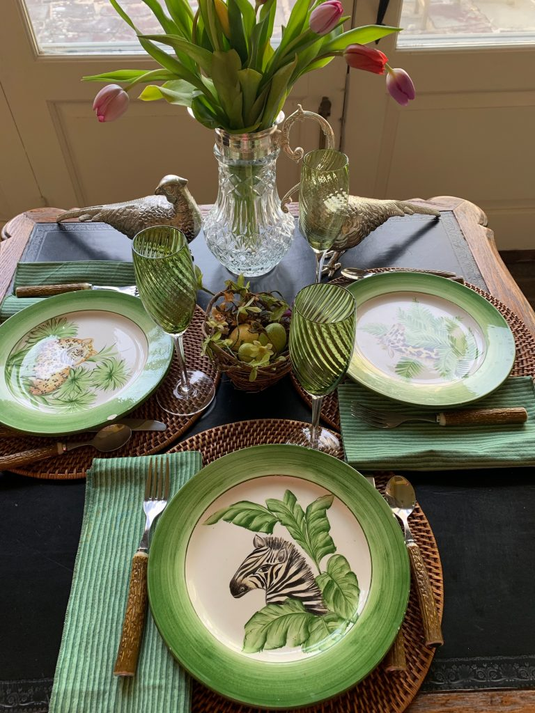 Spring and Summer Tulip Table Settings