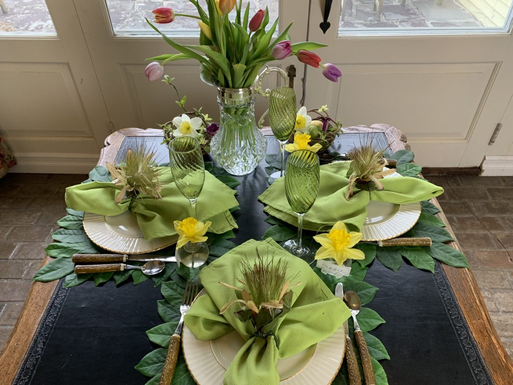 Spring and Summer Floral Table Settings