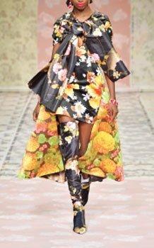 Richard Quinn's Fashion Designs