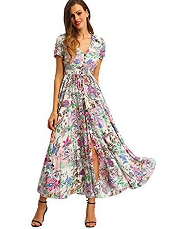 Milumia Women Floral Print Dress