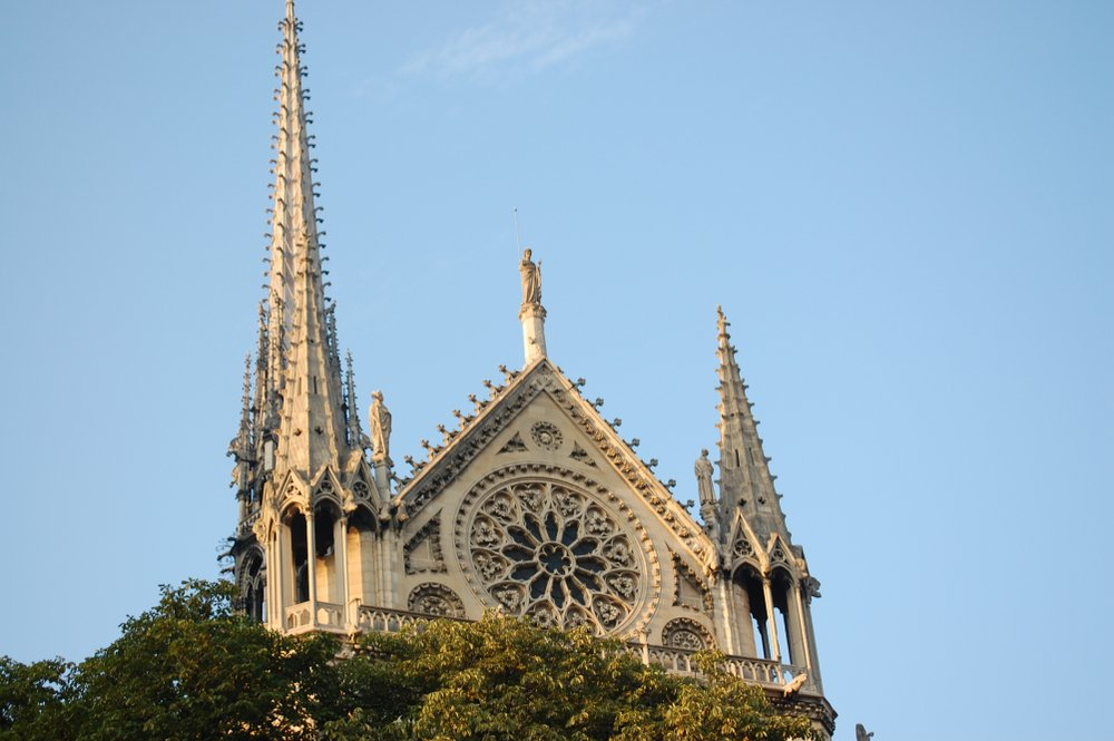 The Southern Transept Notre Dame