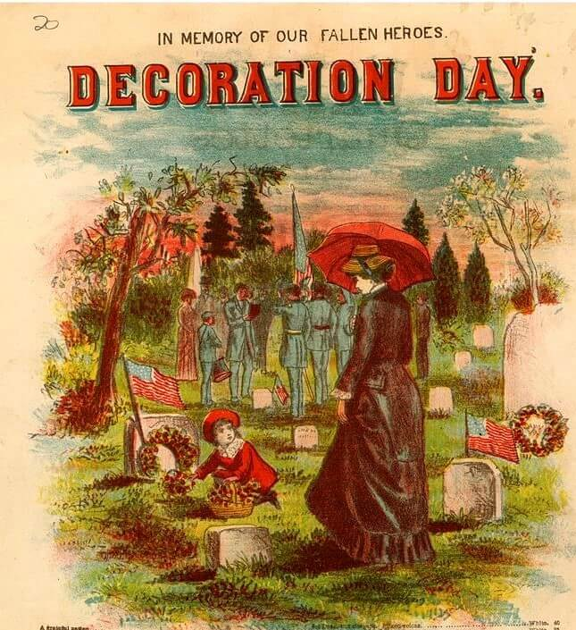 Sheet Music For Decoration Day