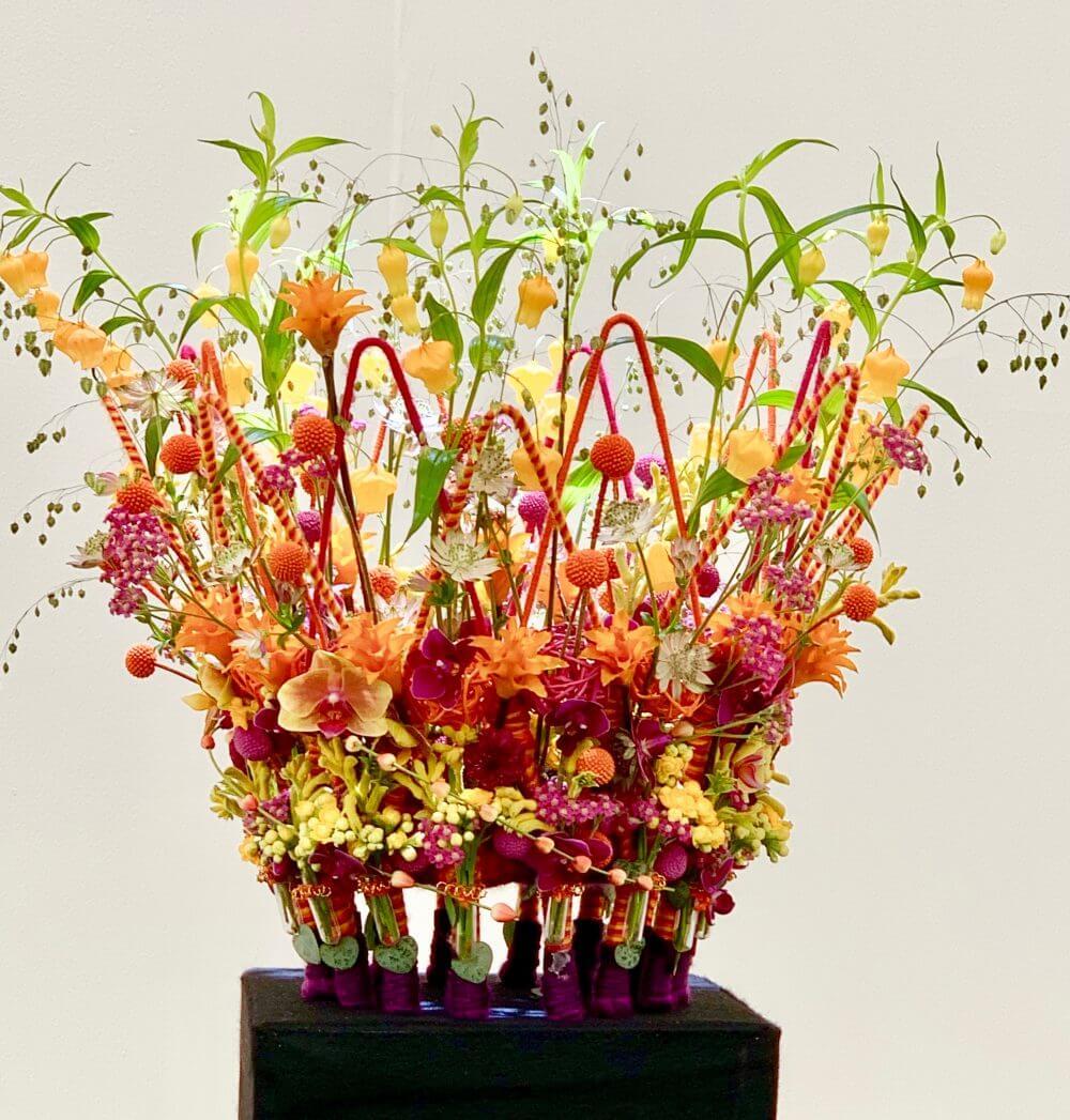 Florist Helen Pannitt Chelsea Flower Show