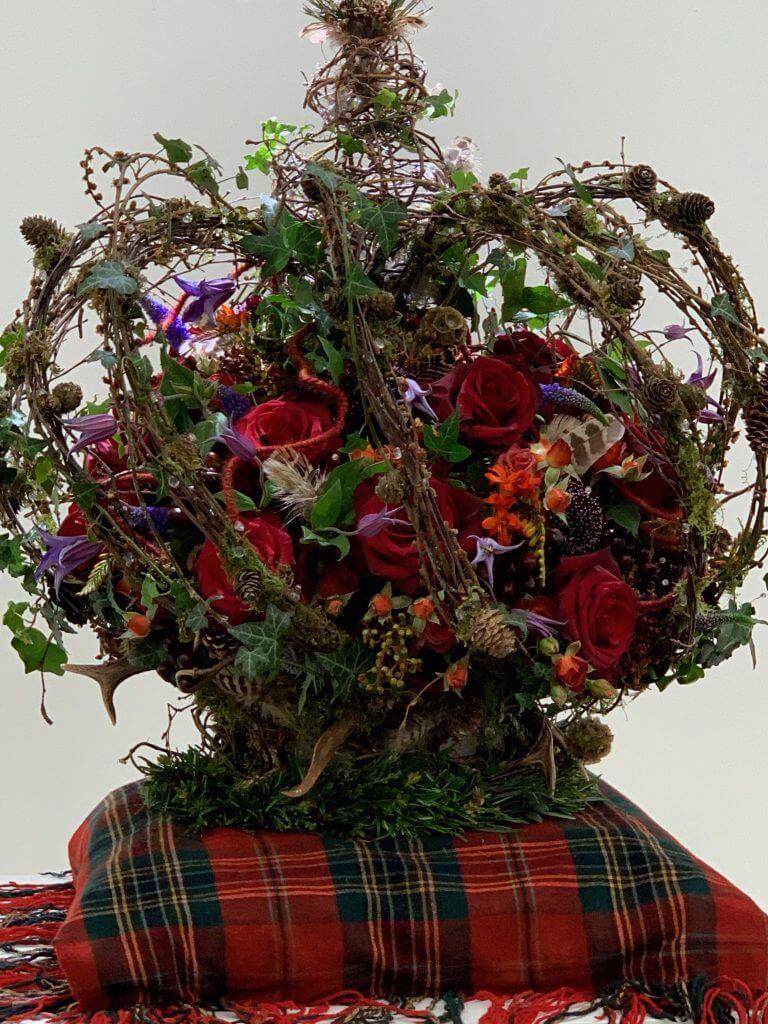 Florist Trudie Easton Chelsea Flower Show