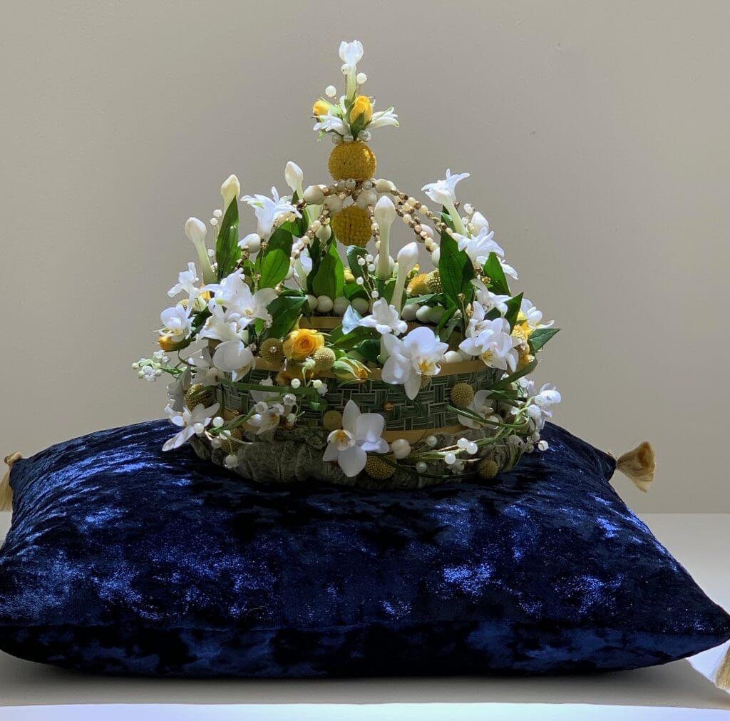 Florist Lucinda Knapman West Bognor Flower Club