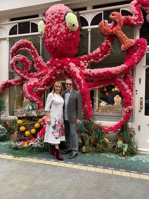 Giant Floral Octopus Chelsea Flower Show