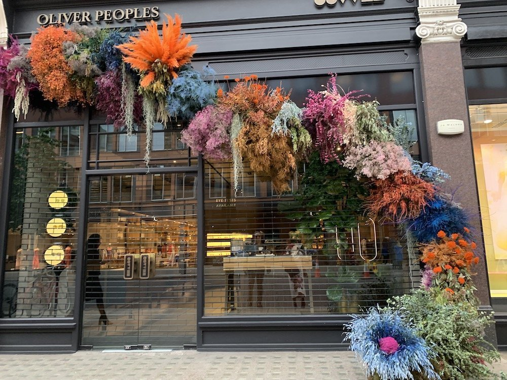 Oliver Peoples Flowered Entrance