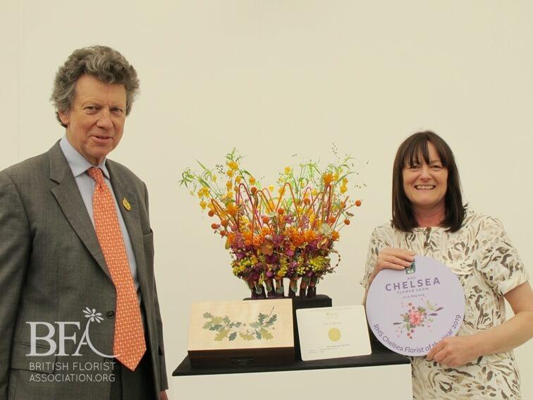 Helen Pannitt Wins RHS Chelsea Florist of the Year