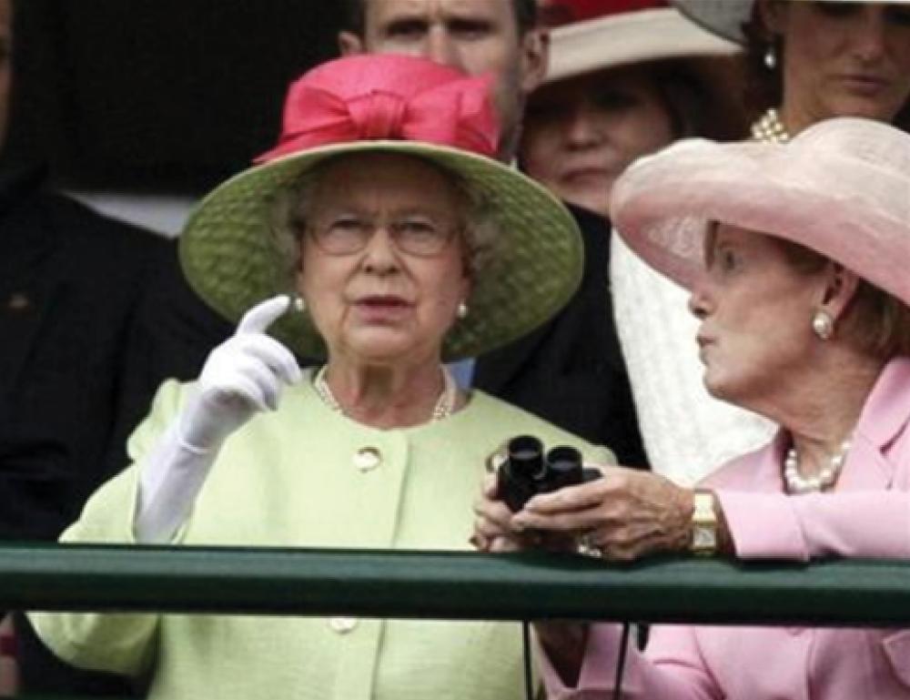Queen-Elizabeth-II at Kentucky Derby