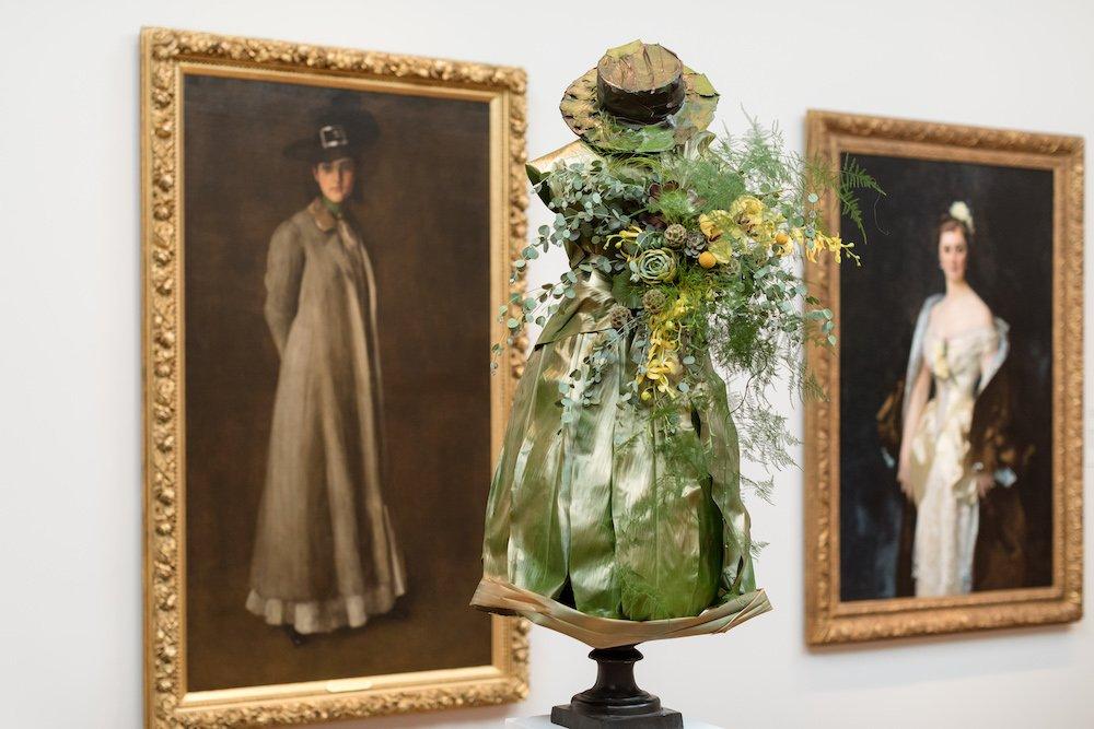 William Merritt Chase's Portrait of Miss D