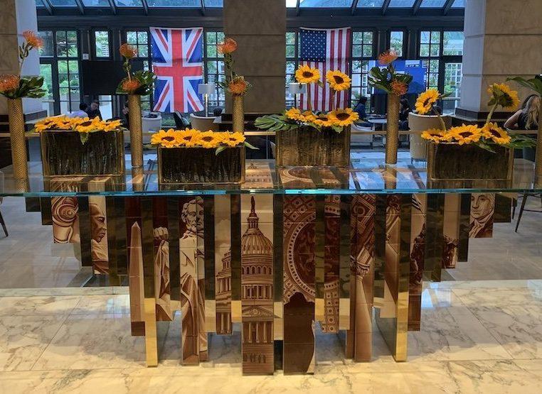 The Fairmont Hotel Flower Arrangement