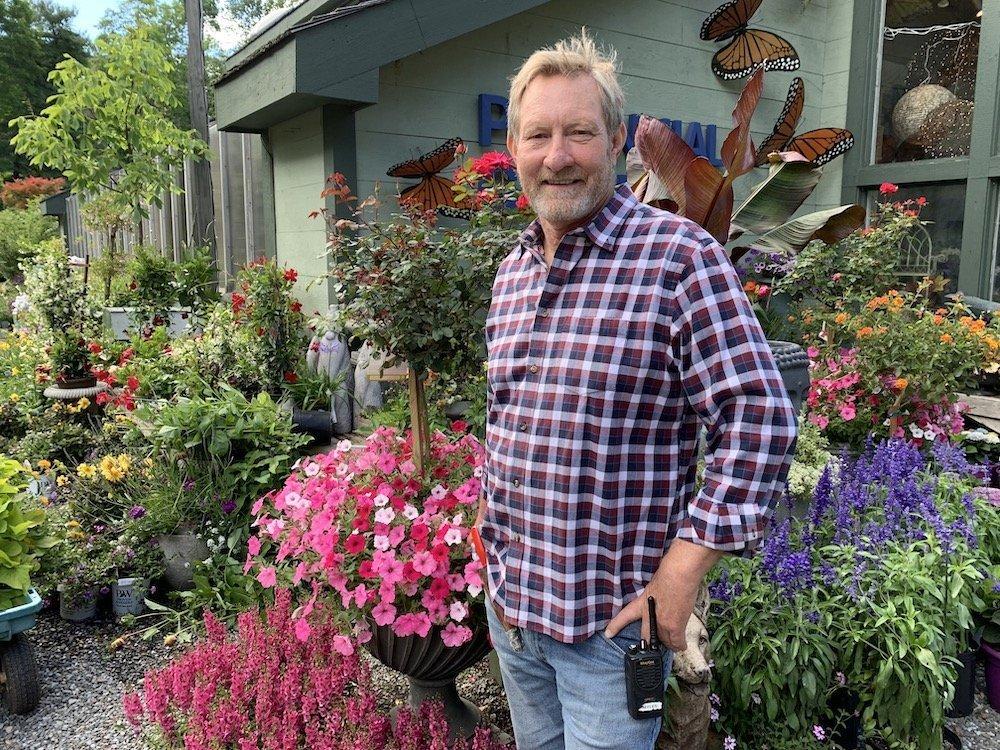 Flower Expert Myles Brown Perennial Gardens Center