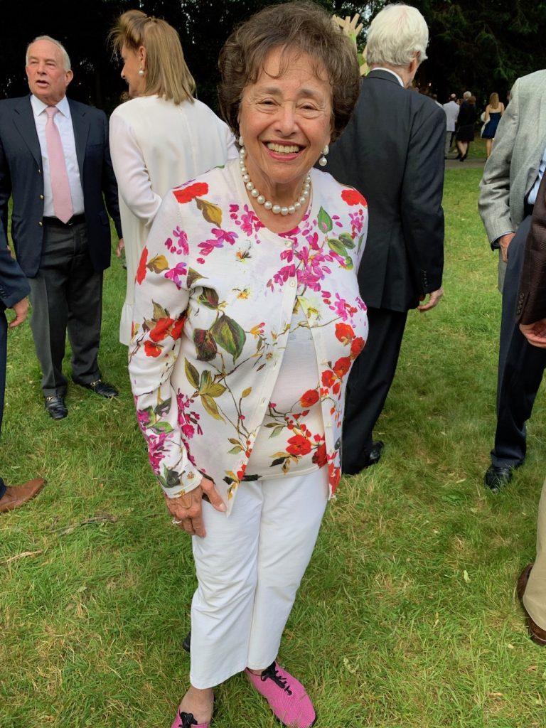 Congresswoman Nita Lowey Floral Top