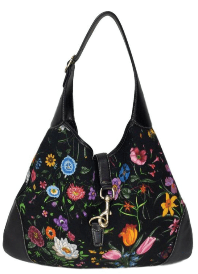 Gucci Flora Bouvier Hobo Bag