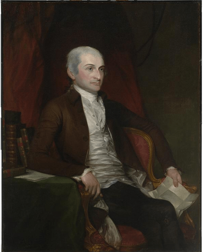 John Jay Founding Father Portrait