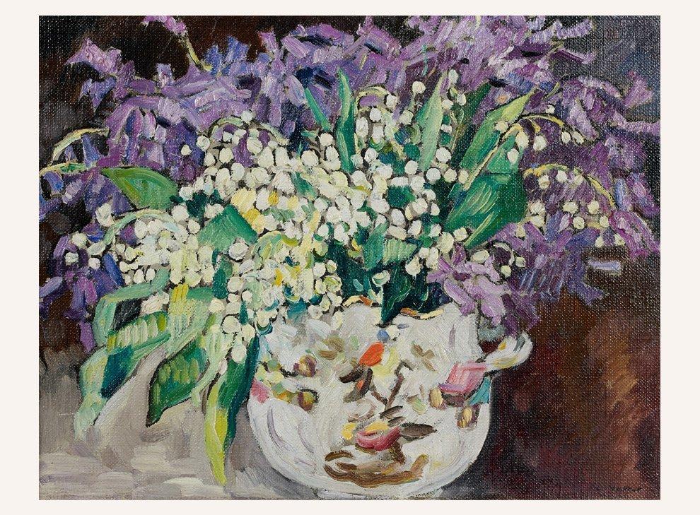 Dusseldorf Floral Painting
