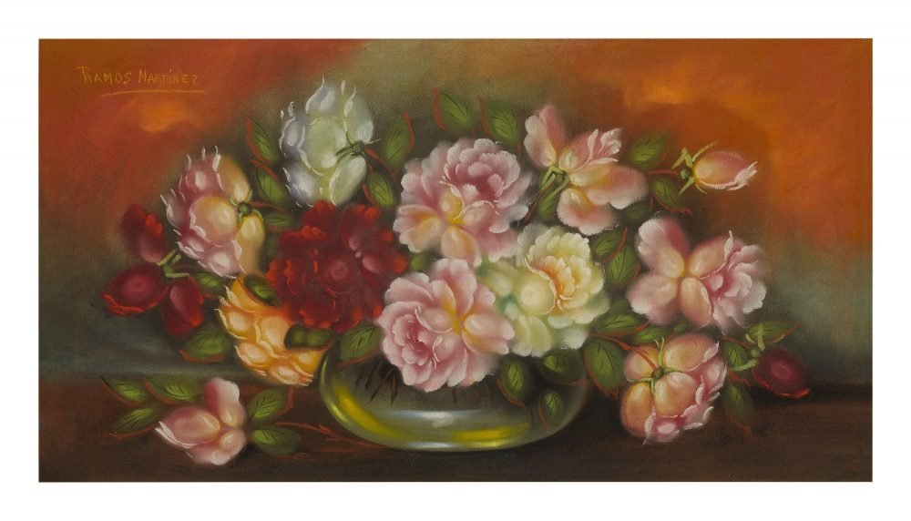 Mexican artist Alfredo Ramos Martinez Roses