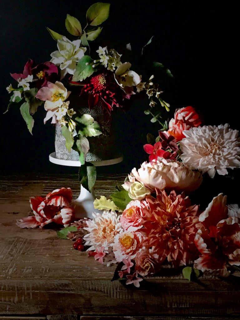 Amazing Julie Simon floral cake