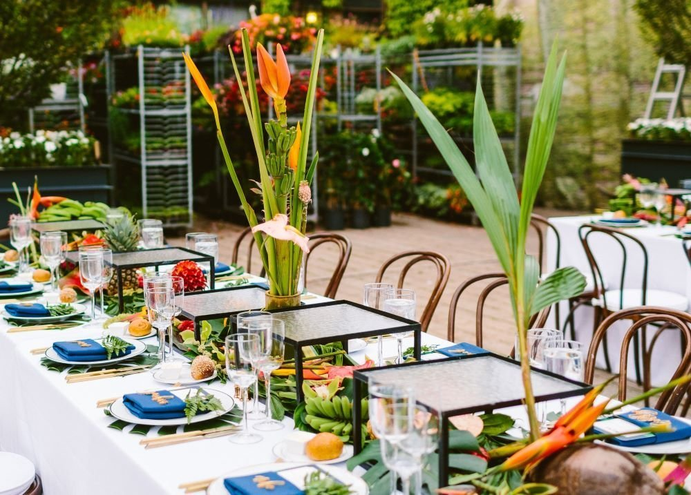 Floresta Table Setting For An Event