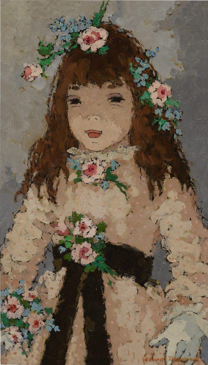 Suzanne Eisendieck Petite Fille D'Honneur