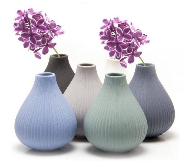 Ceramic bud vases from Chive