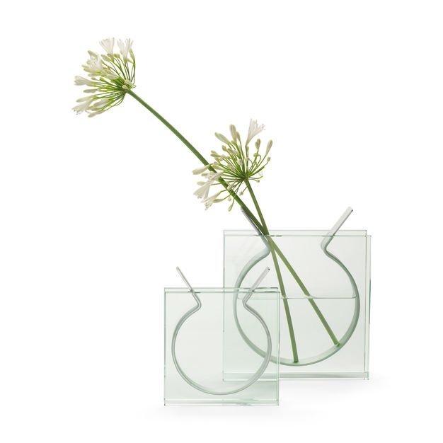Square Ribbon Vase