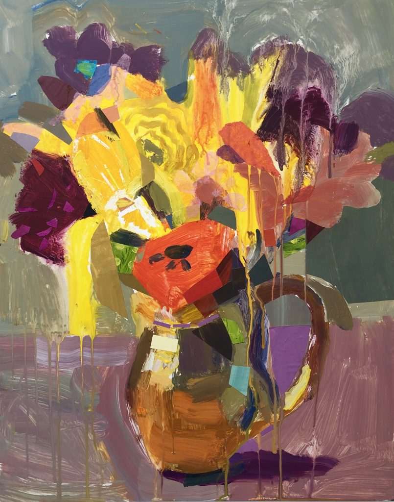 Cynthia Wick Abstract Flowers
