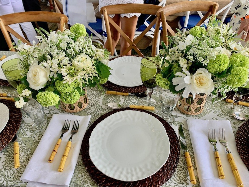 John & Stephanie Ingram Table Setting