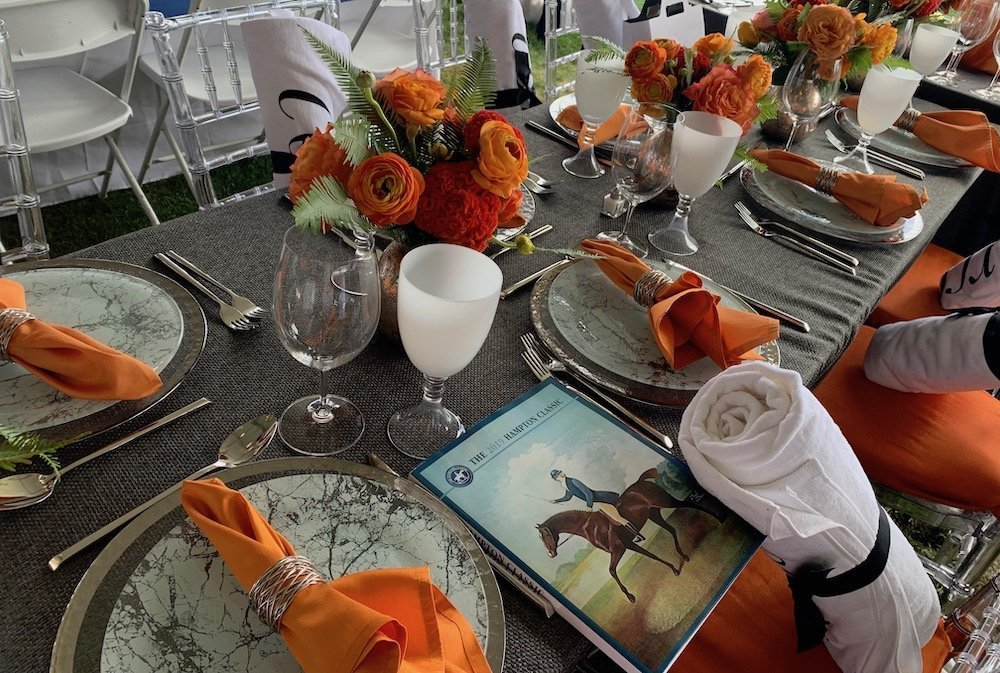 Corcoran Group's Table Setting Hampton Classic