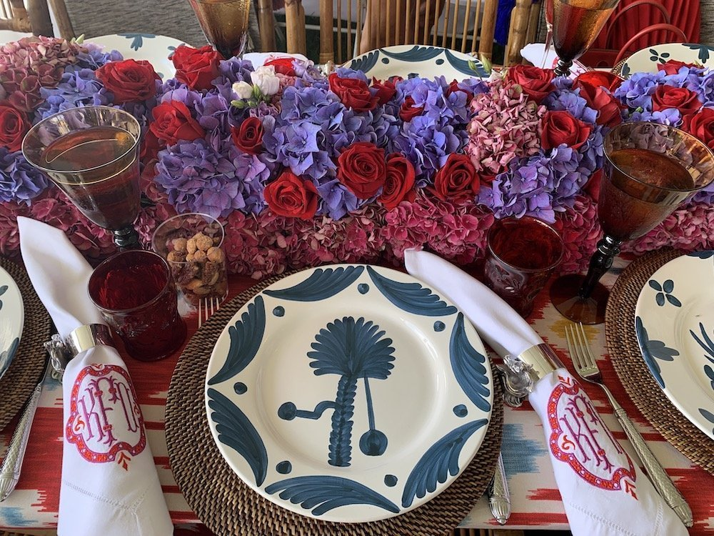 Hamptons Classic Embroidered Napkins