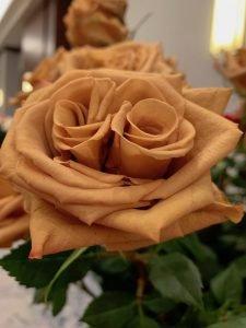 Toffee rose Rosh Hashanah