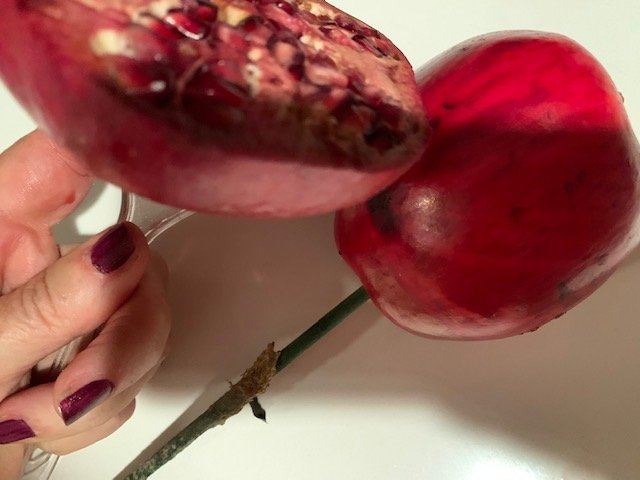 Pomegranates Close Up Rosh Hashanah