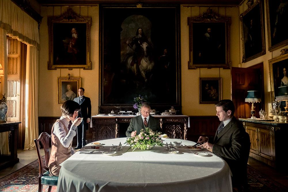 Downton Abbey mop head hydrangea blossom
