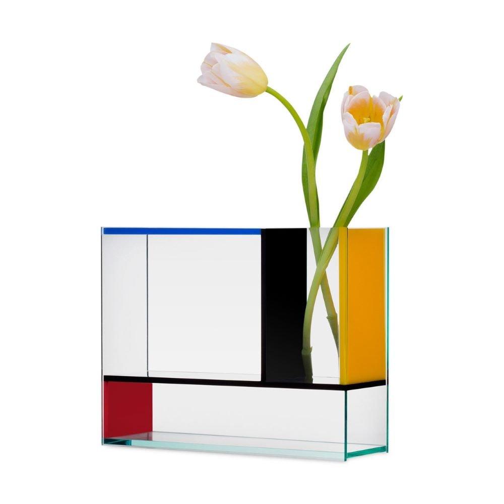 The Mondri Vase With Tulips