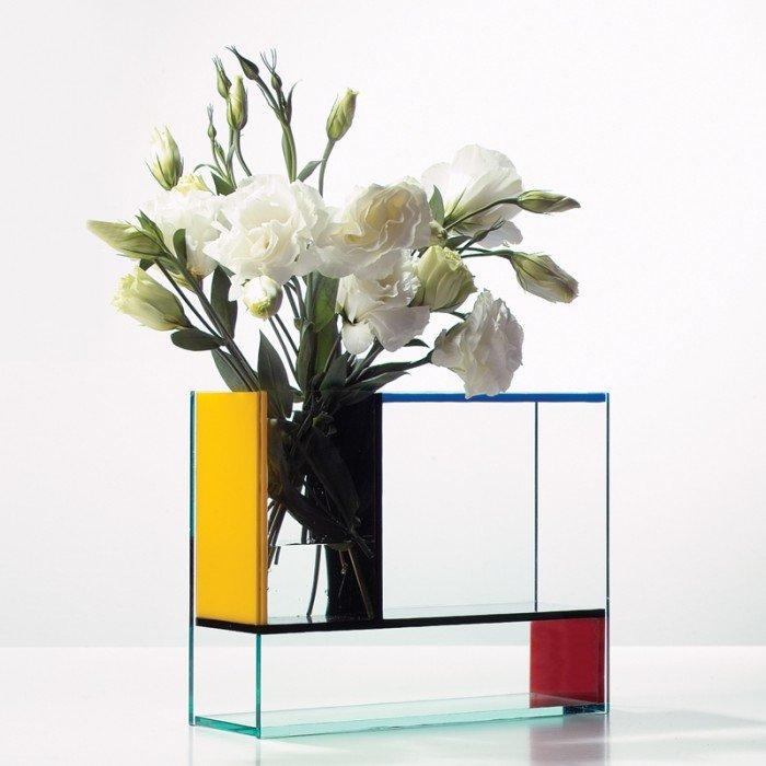 The Mondri Vase inspired by Piet Mondrian