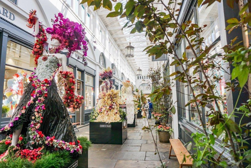 Covent Garden 2019 Flower Show Mannequins