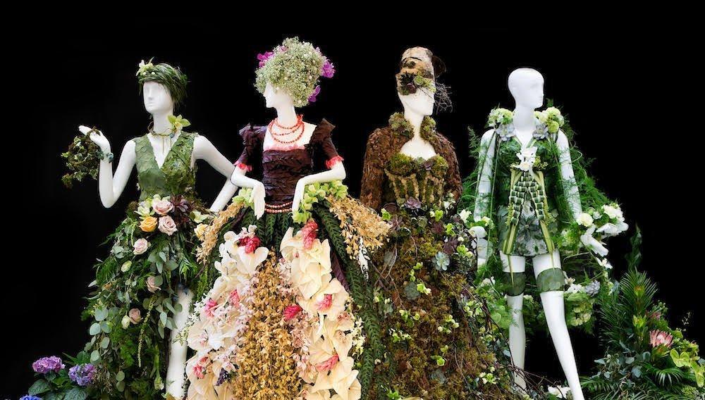 Karen Marshall and Tina Barkley Floral Mannequins