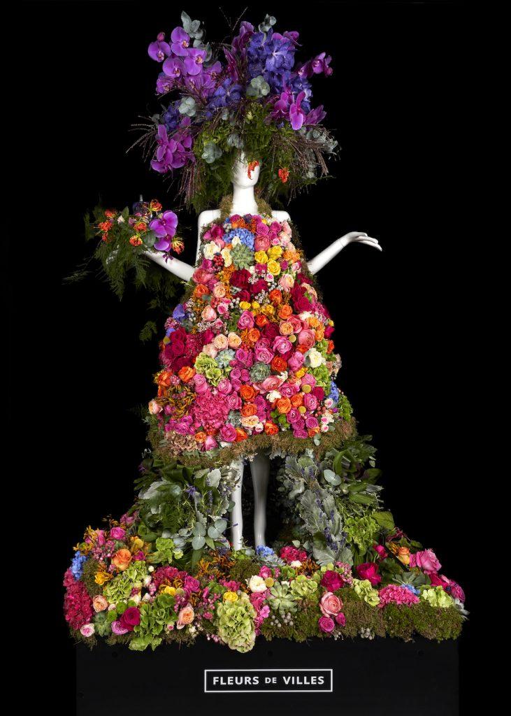Stunning Fleurs de Villes Mannequin